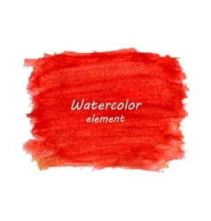 Abstract watercolor art hand paint isolated on vector