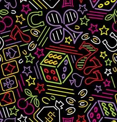 Casino bg neon vs vector