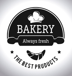 Bakery design vector
