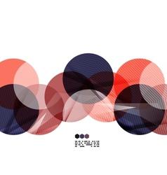 Bright colorful geometric modern design template vector