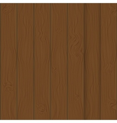 Brown boards background vector