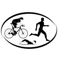 Triathlon vector