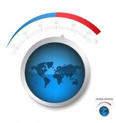 Earth temperature vector