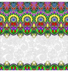 Ornamental floral folkloric background for vector