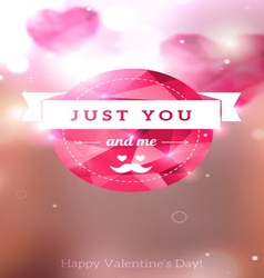 Diamond texture valentine card vector