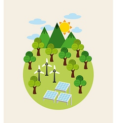 Natural resources vector
