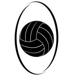 Volleyball 3 vector