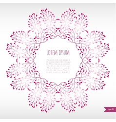 Omantic floral background with place for your vector