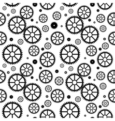 Mechanical wheels seamless vector
