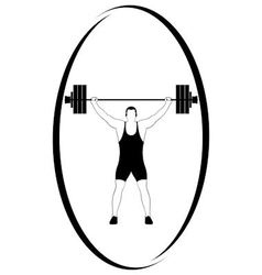 Weightlifting 1 vector