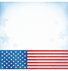 Usa patriotic background vector