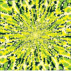 Yellow and green backdrop vector