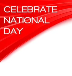 Celebrate national day chinese poster vector