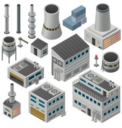 Industrial elements vector