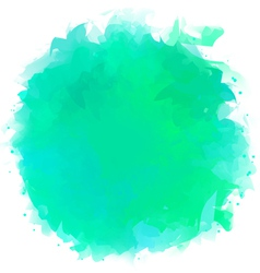 Watercolor splotch vector