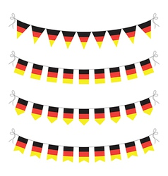 Germany bunting vector
