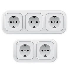 Power outlets vector
