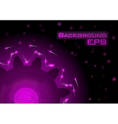 Tech background vector