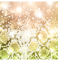 Bright snake new year background vector