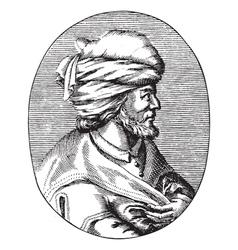 Osman gazi the founder of the ottoman empire vector