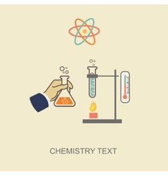 Chemistry infographic  infographics template vector