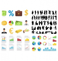 Business collection vector
