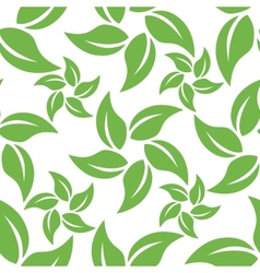 Abstract leaf pattern vector