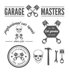 Set of logo badge emblem and logotype element vector