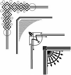 Borders vector