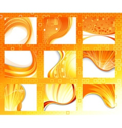 Summer abstract vector