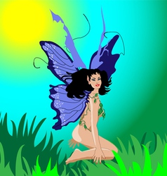 Female fairy vector