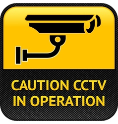 Cctv symbol pictogram security camera vector