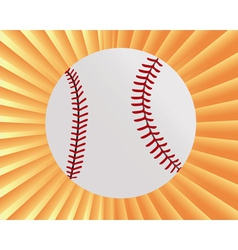Baseball myach vector
