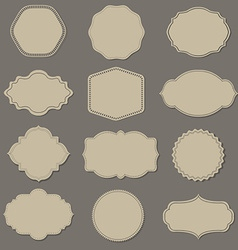 Label big set vector
