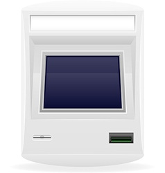 Terminal for receiving payments 03 vector
