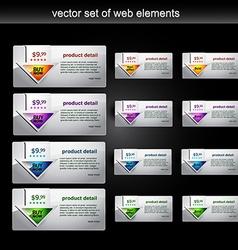 Web element vector