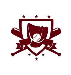 Baseball championship emblem vector
