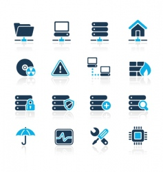 Server icons vector