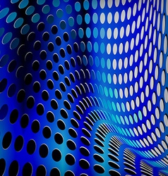 Blue dotted background vector