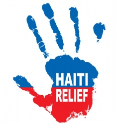 Haiti hand vector