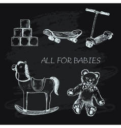 All for babies vector