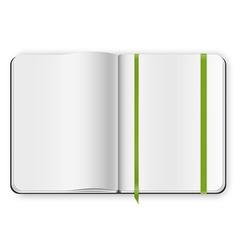 Copybook template vector