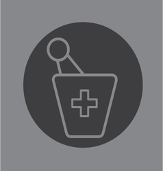 Pharmacy symbol vector
