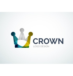Crown logo vector