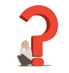 Depressing question vector