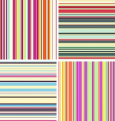 Stripe textures vector