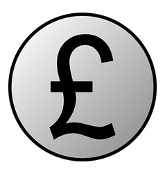 Pound symbol button vector
