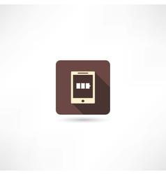 Pad icon vector