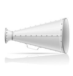Old megaphone vector