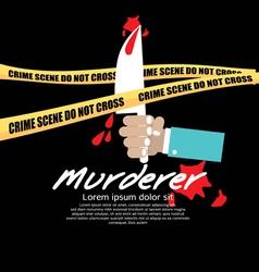 Crime scene eps10 vector